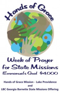 Week of Prayer for State Missions